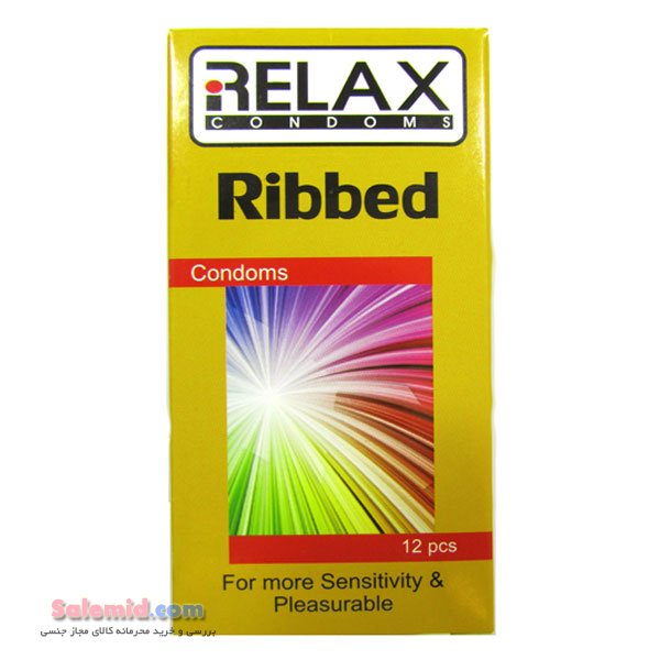 کاندوم خط دار شیار دار بسیار محرک ریلکس Relax Ribbed