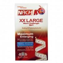 خرید آنلاین کاندوم سایز بزرگ ناچ تاخیری اناری شفاف NACH XX Large Condome Delay and Pomegranate