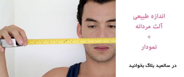 نرمال میانگین استاندارد اندازه آلت تناسلی ضخامت کلفتی طول Normal Penis Size Average