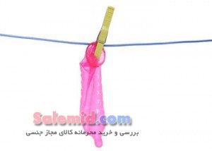 طرز استفاده از کاندوم دخول