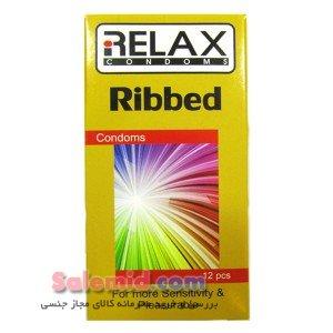 خرید آنلاین کاندوم خط دار شیار دار بسیار محرک ریلکس Relax Ribbed