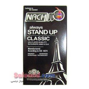 خرید آنلاین کاندوم ناچ استند آپ ساده چرب روان کننده کلاسیک Nach always Stand Up Classic ساده